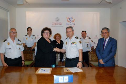 La Universidad de Salamanca, primera universidad de España que consigue el reconocimiento del Ministerio del Interior de su Máster en materia de Seguridad
