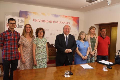 Presentación Red de Igualdad de la Universidad de Salamanca.