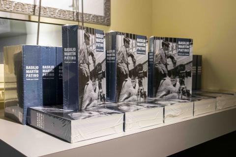 """El libro """"Basilio Martín Patino: Pasión por el juego"""""""