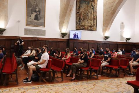 La Universidad de Salamanca acoge la 69 asamblea de representantes estudiantiles de universidades públicas