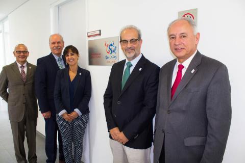 El rector inaugura la Oficina de Representación de la Universidad de Salamanca en la UNAM