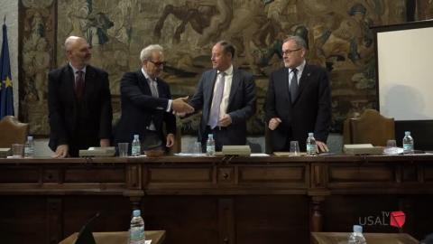 La Universidad de Salamanca acoge el VII Plenario de la Conferencia de Rectores del Suroeste de Europa  Usal Noticias