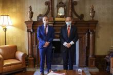 El rector se reúne con el embajador de Brasil