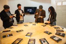 Exposición de los Premios Reina Sofía de Poesia Iberoamericana.