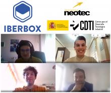 Videollamada del equipo Iberbox