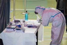 Técnico sanitario en cribado masivo por COVID 19