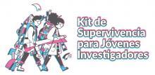 Logo 'Kit de supervivencia para jóvenes investigadores'